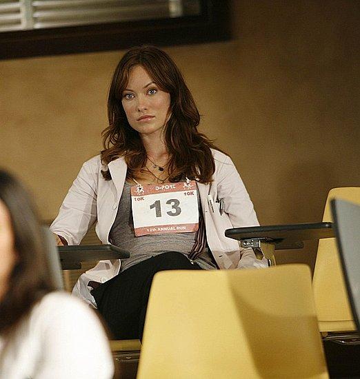Olivia Wilde alle prime apparizioni nella serie. Indossa il cartellino 13, da cui deriva il suo soprannome.