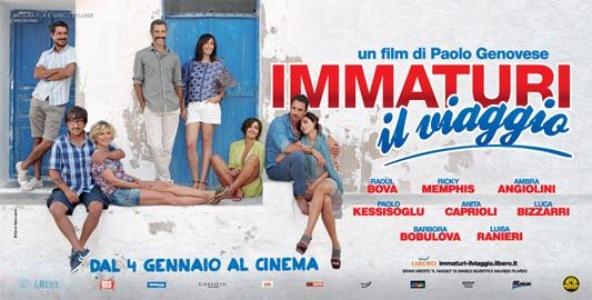 Film in Tv, Immaturi – il viaggio: stasera, mercoledì 27 gennaio 2016 su Canale 5, trama e info streaming