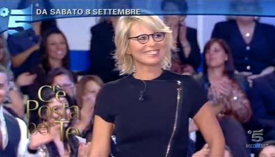 Ascolti Tv, 29 settembre 2012: C'è Posta per te vince con 4,5 mln contro Ti Lascio una Canzone fermo a 3,7 mln