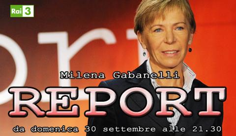Report, da stasera ripartono su RaiTre le inchieste di Milena Gabanelli