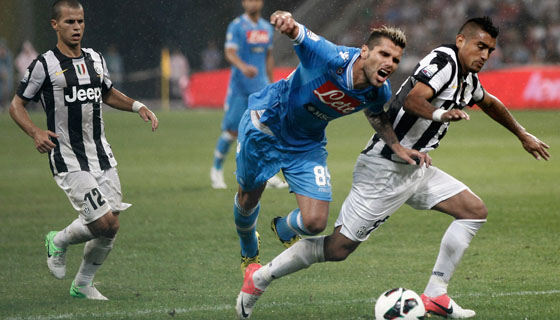 Calcio in Tv: Juventus-Napoli, tutti gli appuntamenti di oggi dedicati alla grande sfida in onda su Sky Calcio 1 HD