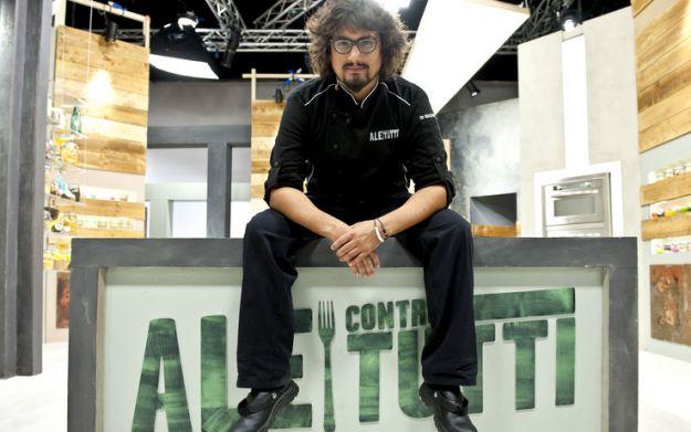 Ale contro tutti, da stasera su Sky Uno HD il nuovo cooking show con Alessandro Borghese
