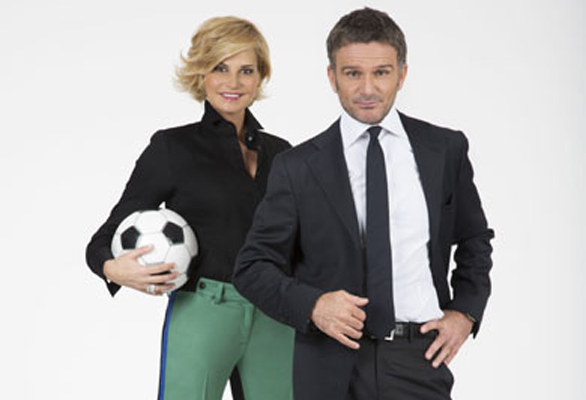 Cielo che Gol!, da oggi la nuova formula: nel pomeriggio Simona Ventura; Alessandro Bonan in prima serata con l'analisi tecnica
