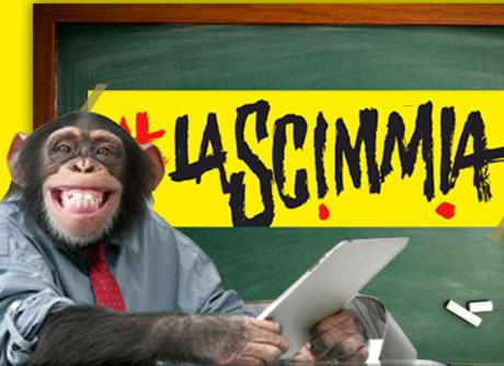 """La Scimmia prosegue sul web ma """"in forma diversa"""""""