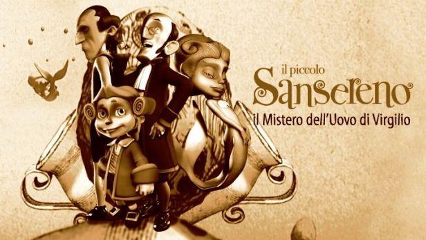 Il Piccolo Sansereno e il Mistero dell'Uovo di Virgilio, da domani su RaiDue, il primo cartone in 3D realizzato a Napoli