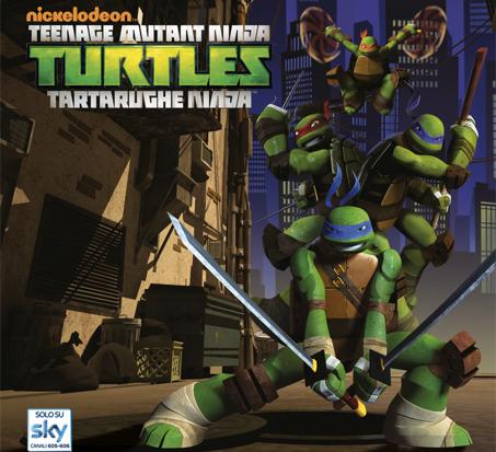Il grande ritorno delle Tartarughe Ninja, dal 9 novembre su Nickelodeon ed in anteprima al Lucca Comics & Games