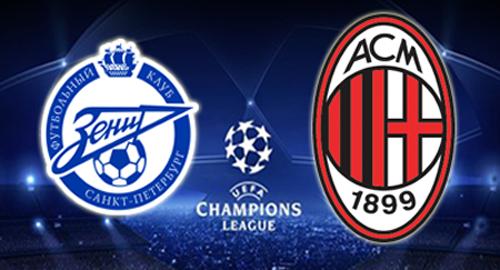 Calcio in Tv, Champions League: il programma di oggi su Sky e Mediaset Premium. La diretta di Zenit-Milan