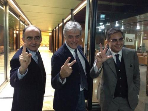 I nuovi direttori Rai, ecco chi sono: Giancarlo Leone a RaiUno, Angelo Teodoli a RaiDue e Andrea Vianello a RaiTre
