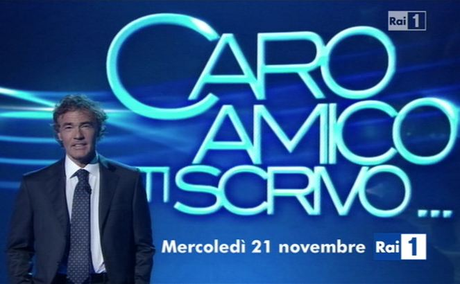 Ascolti Tv, 21 novembre 2012: Caro Amico ti scrivo a 4 mln; RIS Roma 3 a 3,9 mln; Chi l'ha visto? a 3,7 mln