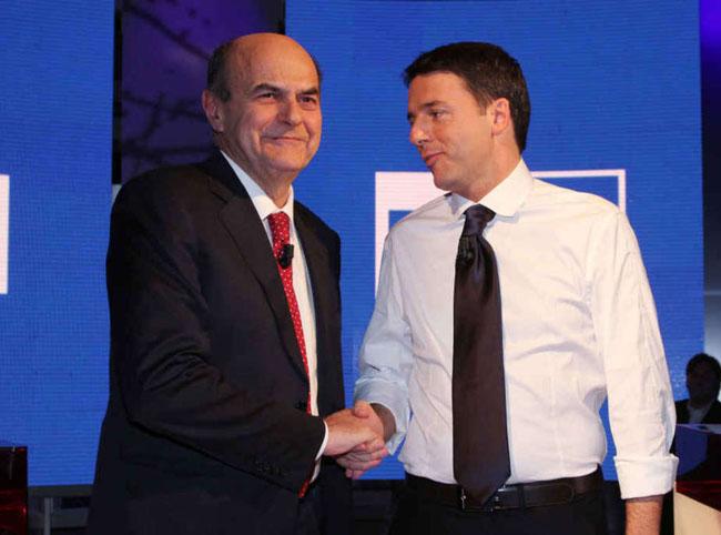 Primarie Centrosinistra in Tv, l'ultima sfida tra Bersani e Renzi: l'impegno di Sky Tg24, TgCom24 e Rai