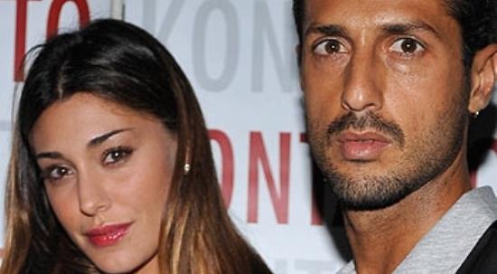 Belen Rodriguez e Fabrizio Corona: il video a luci rosse finisce online