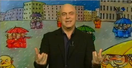 """Ballarò, copertina satirica di Maurizio Crozza, puntata del 22 gennaio: """"Monti fa il fenomeno? Almeno lo fosse!"""" – VIDEO"""