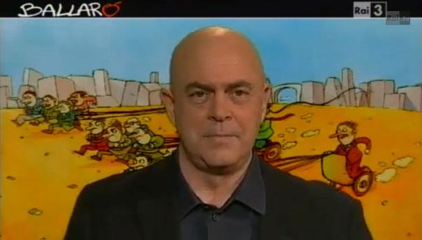 Ballarò, la copertina satirica di Maurizio Crozza, puntata dell'8 gennaio 2013 – VIDEO