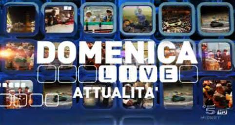 Domenica Live, la nuova puntata: cronaca ed attualità. Maria Nazionale, Sandra Milo, Guendalina Canessa e Luca Marin ospiti