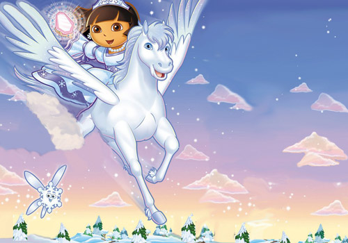 """Dora L'esploratrice, questo pomeriggio su Nick Jr l'episodio speciale """"Dora salva la principessa delle nevi"""""""