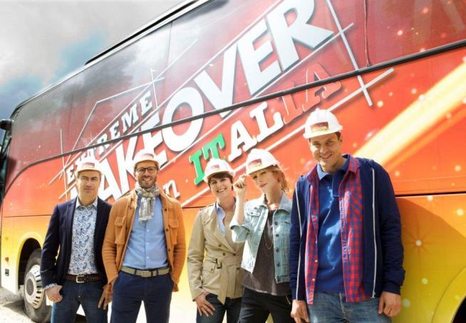Extreme Makeover Home Edition Italia, stasera la seconda puntata su Canale 5; Marco Melandri guest star