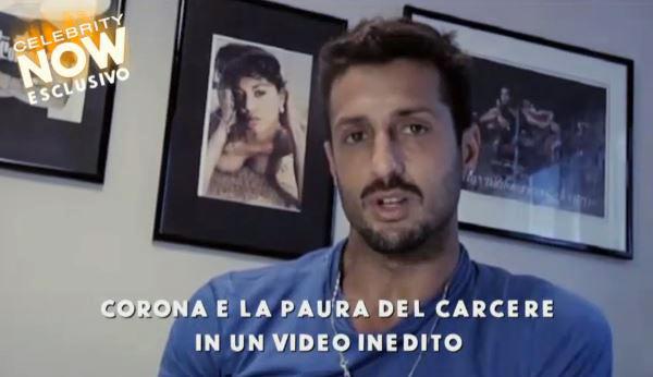"""Fabrizio Corona a Celebrity Now: """"Venuto come il Messia per insegnare alla gente il carcere. Il giorno che uscirò conquisteremo il mondo"""" – VIDEO"""