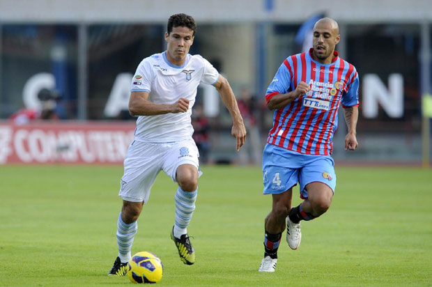 Calcio in Tv, Coppa Italia: stasera su RaiDue Lazio–Catania; domani su RaiUno Juventus-Milan