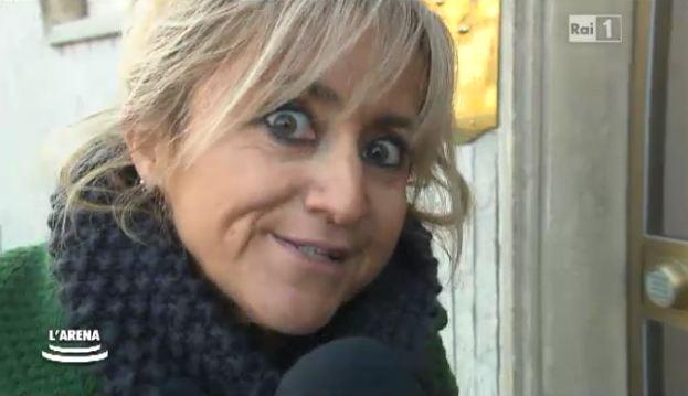 Sanremo 2013, Luciana Littizzetto a L'Arena: non si parlerà di politica; spazio all'improvvisazione sul palco