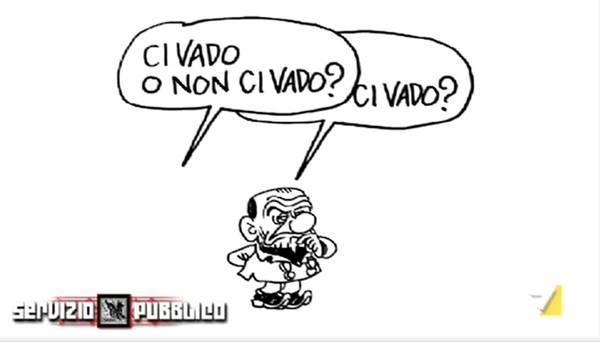 Servizio Pubblico: Silvio Berlusconi da Michele Santoro stasera su La7. Abbandonerà lo studio in anticipo? – VIDEO