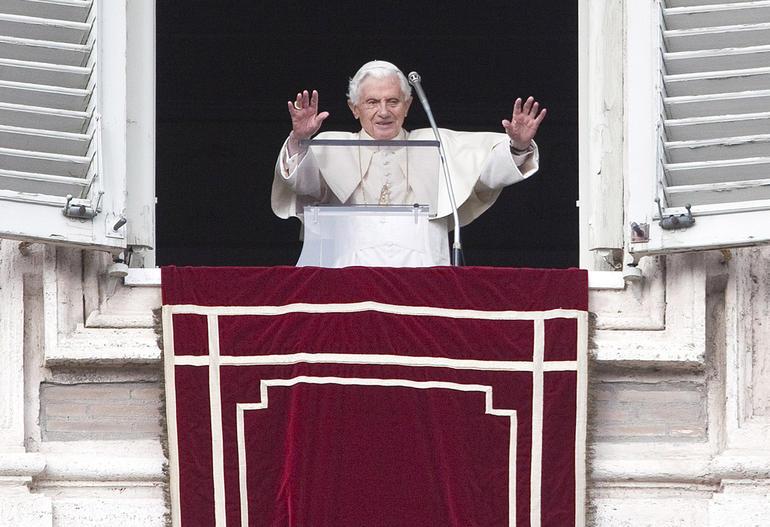 L'ultimo Angelus di Papa Benedetto XVI, lo Speciale su Rete 4 alle 11:55