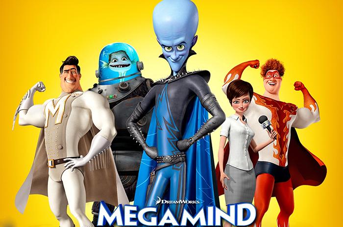 Film in TV: Megamind, stasera alle 21.10 su Italia 1