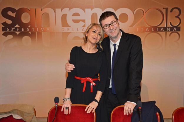 Sanremo 2013, i compensi di Fabio Fazio e Luciana Littizzetto: in tutto quasi un milione di euro