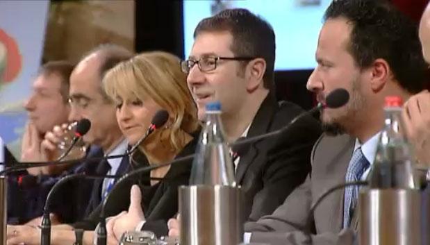"""Festival di Sanremo 2013, la conferenza stampa. Fabio Fazio: """"Un Festival all'insegna dell'allegria e del divertimento"""" – FOTO"""
