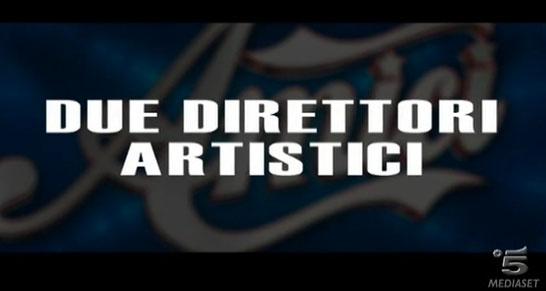 Amici 12, il serale: Emma Marrone e Miguel Bosé i due Direttori Artistici – VIDEO