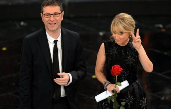 Sanremo 2014: riconfermati Fabio Fazio e Luciana Littizzetto