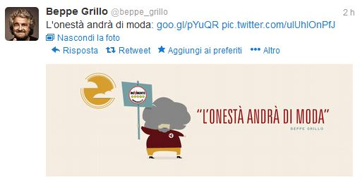 Elezioni 2013, Grillo e i risultati in diretta. Ha fatto bene a rinunciare alla tv a favore di Twitter?
