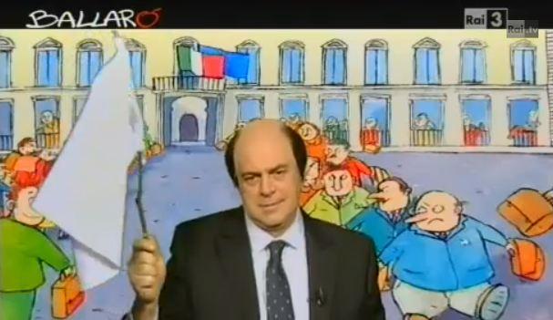 """Ballarò, puntata del 26 febbraio: copertina di Maurizio Crozza sui risultati delle Elezioni. Bersani a Grillo: """"Adottami!"""" – VIDEO"""