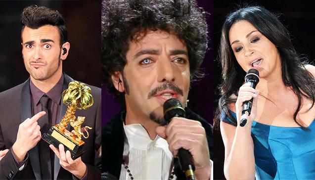 Sanremo 2013, le chicche: Mengoni all'Eurovision Song Contest, Gazzè il più tecnologico, Nazionale delusa dai colleghi