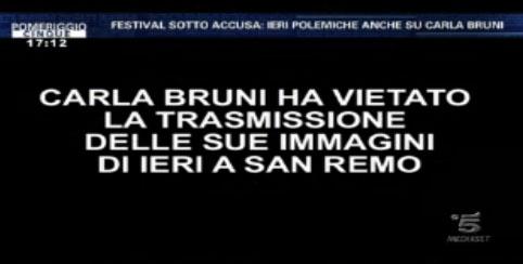 Sanremo 2013, il Festival delle polemiche commentato da Barbara D'Urso: dopo Crozza arriva Carla Bruni