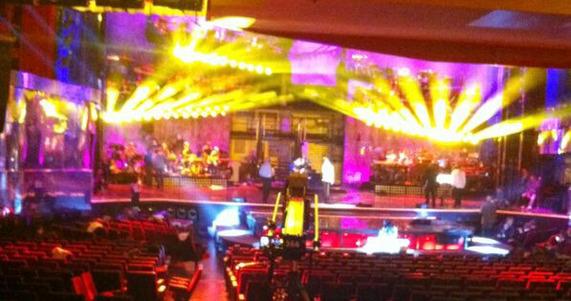 Sanremo 2013, le prime immagini della scenografia – FOTO