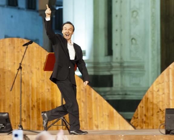 TuttoDante: Roberto Benigni con il Canto XIV dell'Inferno, stasera su RaiDue
