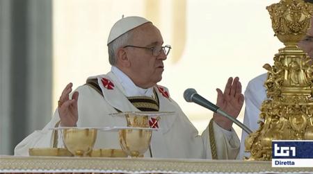 Papa Francesco, la Messa inaugurale in diretta Tv: le immagini più belle