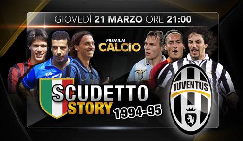 Scudetto Story, la vittoria della Juventus di Marcello Lippi, stasera su Premium Calcio