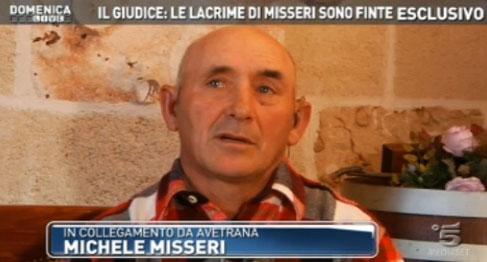 """Domenica Live, Michele Misseri minaccia in diretta tv: """"La faccio finita, poi vedrai che succede"""" – FOTO"""