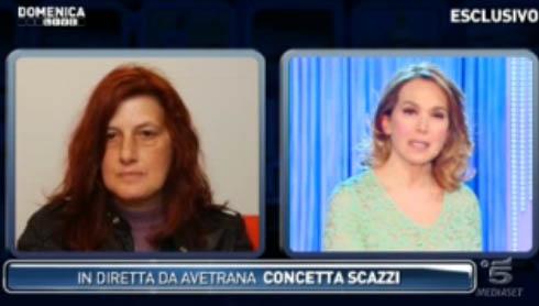 """Domenica Live, intervista esclusiva alla mamma di Sarah Scazzi: """"Nessuna persona stupida crede a Misseri"""""""