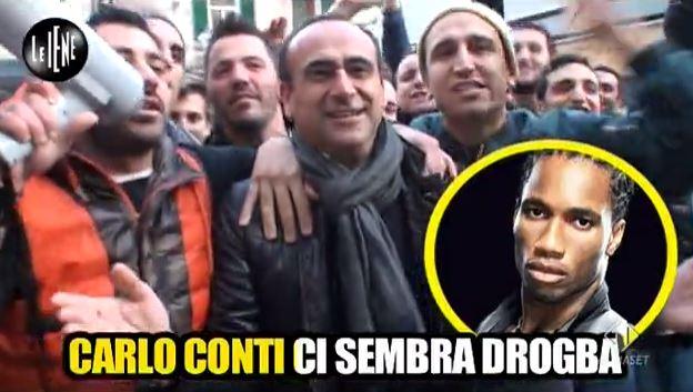 Le Iene, Pio e Amedeo, gli ultras dei vip: Gabriele Cirilli, Carlo Conti e Fabrizio Frizzi tra le vittime – VIDEO