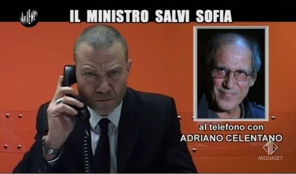 Le Iene, l'appello di Adriano Celentano al Ministro Balduzzi sul caso della piccola Sofia – VIDEO