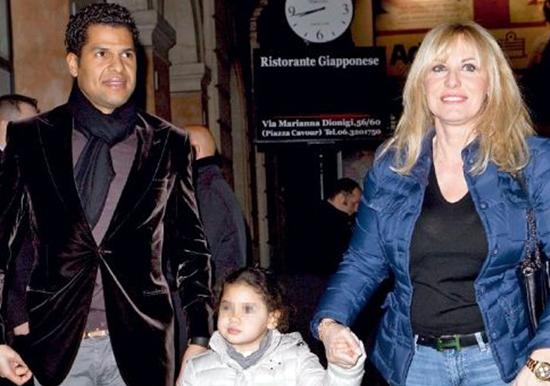 Antonella Clerici torna insieme ad Eddy Martens per amore di Maelle