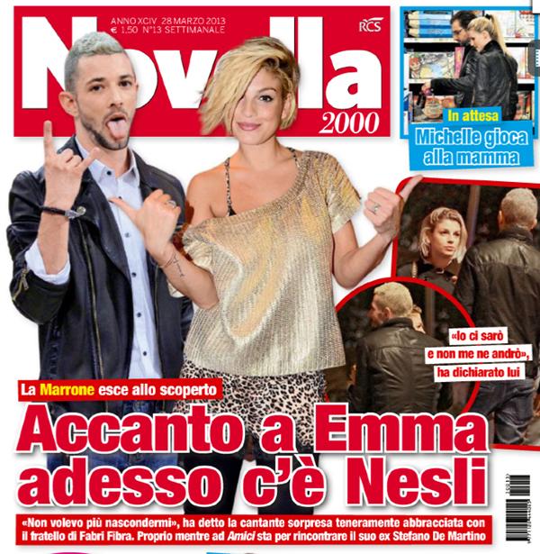 """Emma smentisce la storia con Nesli: """"Ho letto che siamo fidanzati… Sei contento?"""""""