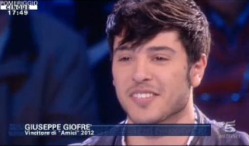 """Giuseppe Giofrè a Pomeriggio Cinque: """"Ringrazio Mara Maionchi, è una grande!"""""""