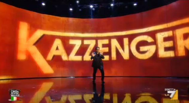 Crozza nel Paese delle Meraviglie: torna Kazzenger, la parodia di Voyager – VIDEO