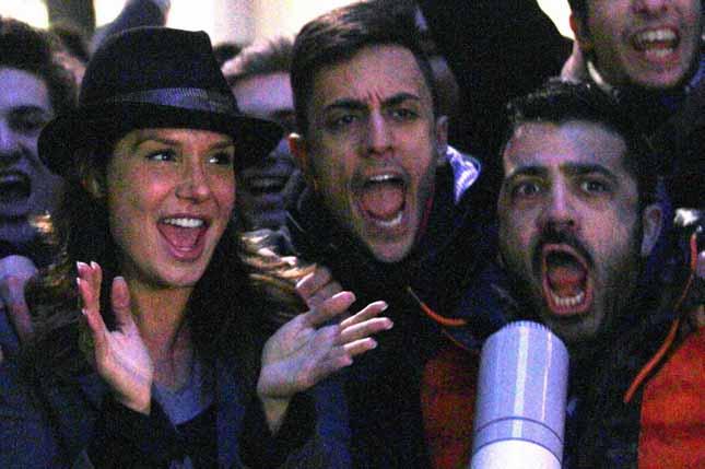Le Iene, Pio e Amedeo, gli ultras dei Vip, prendono d'assalto Nicole Minetti – FOTO
