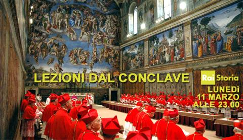 Lezioni dal Conclave: tutti i segreti ed i retroscena, alle 13:00 su RaiTre