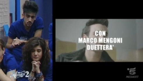 Amici 12, i duetti del primo serale: Moreno con Fibra, Greta con Nannini, Verdiana con Mengoni e Ylenia con Paoli