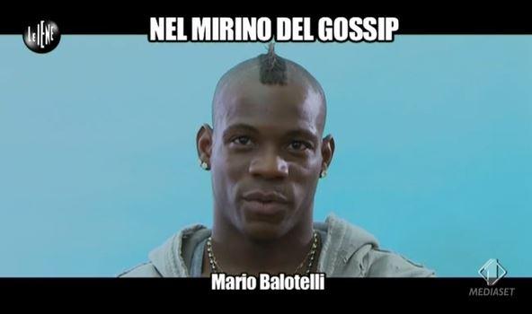 """Mario Balotelli a Le Iene tra finto gossip e calcio e su Raffaella Fico e la piccola Pia """"No Comment"""" – VIDEO"""